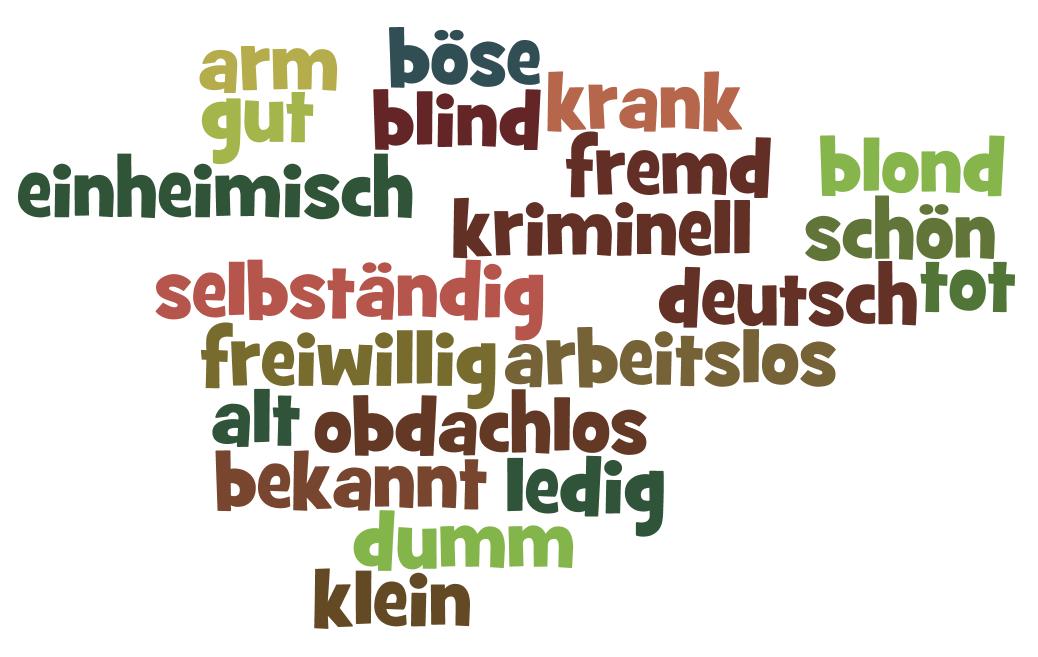 Tính Từ Hóa Danh Từ Trong Tiếng Đức