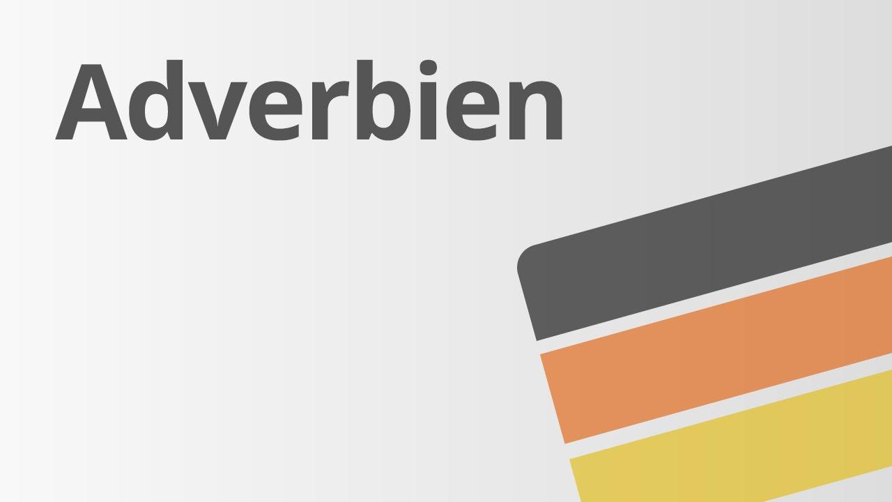 Trạng Từ Trong Tiếng Đức