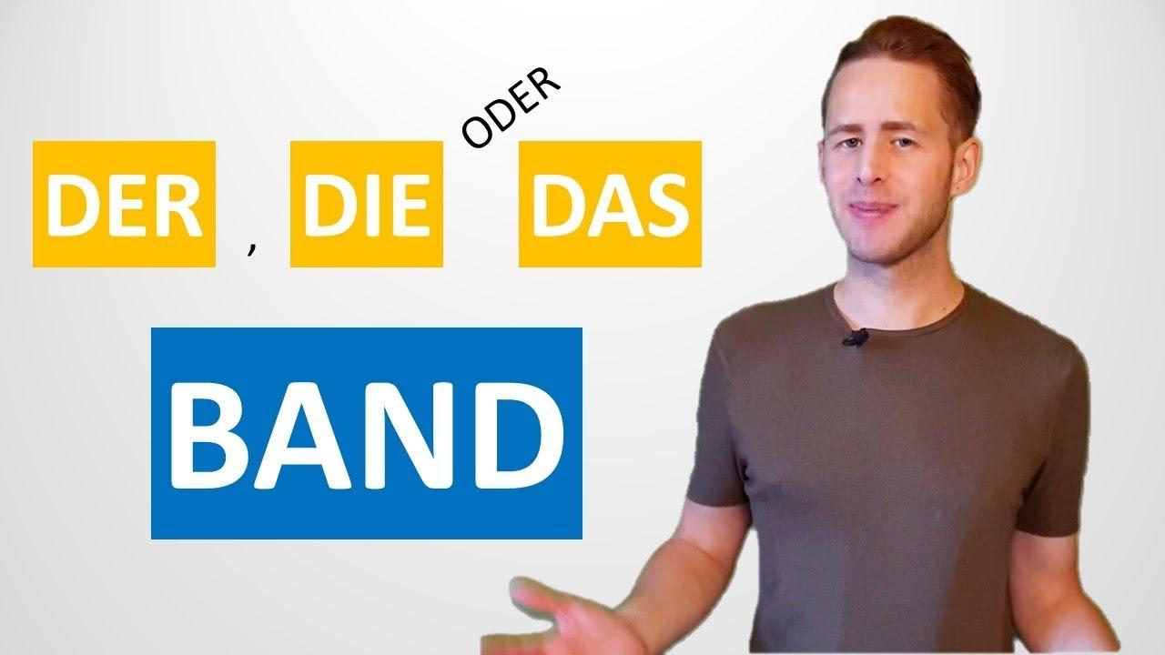 Các Từ Gây Nhầm Lẫn Trong Tiếng Đức