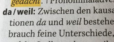 Cách Dùng da Trong Tiếng Đức