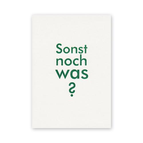 Cách Sử Dụng Sonst Trong Tiếng Đức