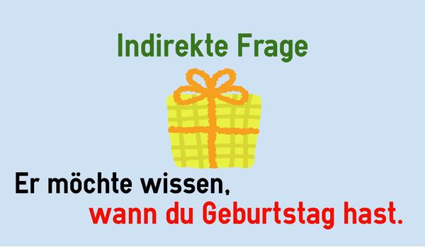 Câu Hỏi Gián Tiếp Trong Tiếng Đức