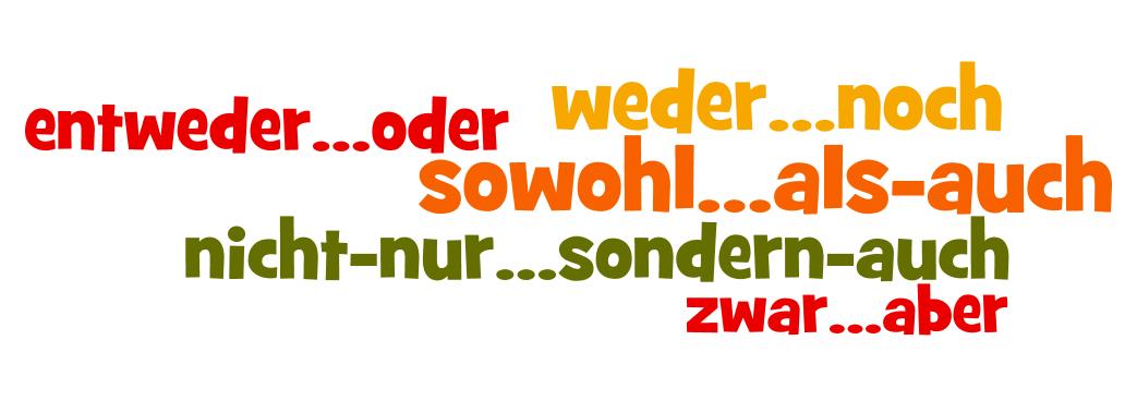 Liên Từ Kép Trong Tiếng Đức