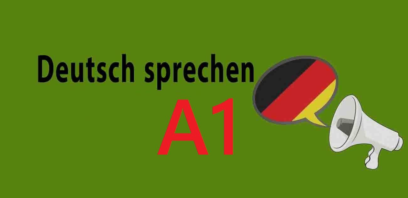 Luyện Thi Nói A1 Tiếng Đức