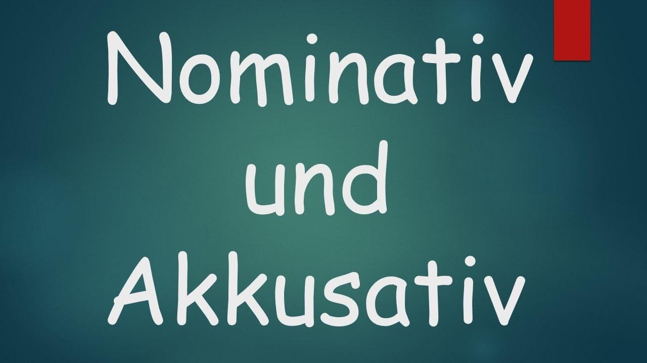 Phân biệt Nominativ và Akkusativ Trong Tiếng Đức